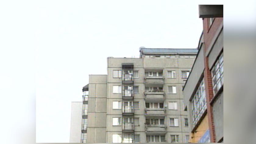 Na dachu wieżowca wybuchła bomba. Zginął mężczyzna (wideo ze stycznia 2017)
