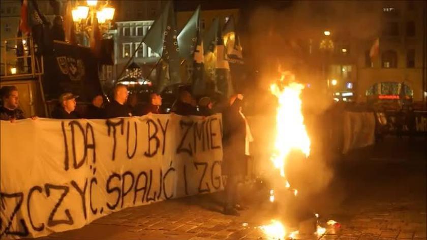 Wiceprezydent Wrocławia o proteście przeciwko uchodźcom