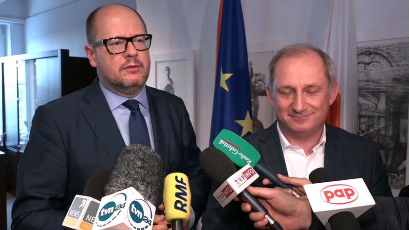 Sławomir Neumann spotkał się z Pawłem Adamowiczem