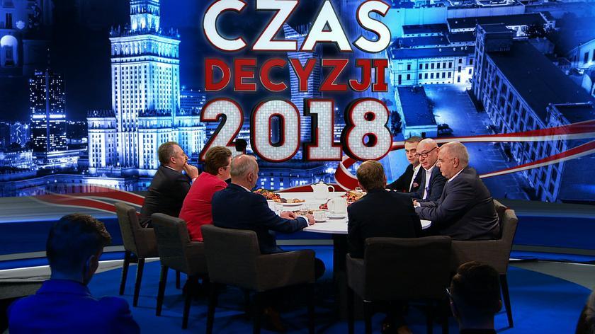 """Politycy w """"Kawie na ławę"""" dyskutowali o sondażowym wyniku wyborów samorządowych"""
