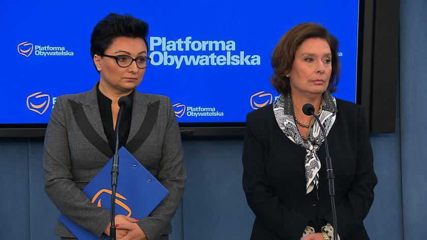 Kidawa-Błońska (PO): panie prezesie, proszę zostawić polskie kobiety w spokoju