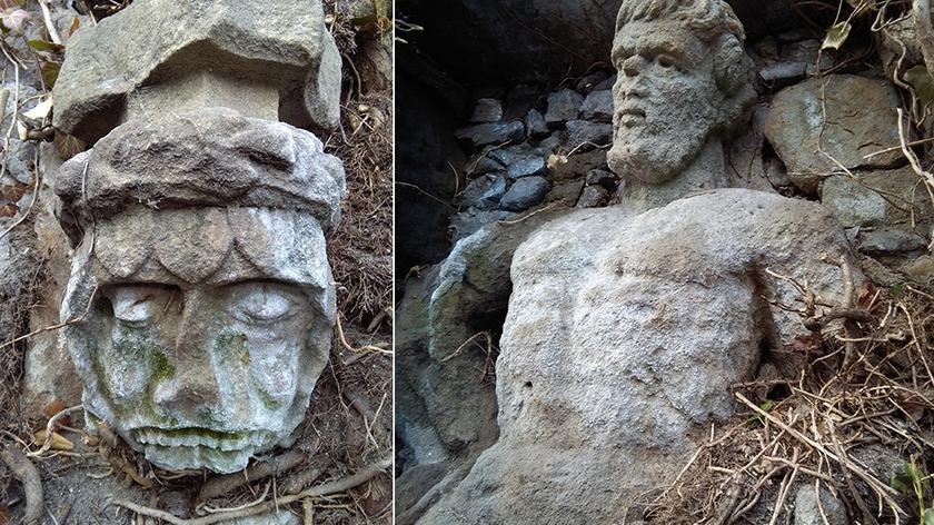 Tajemnicze płaskorzeźby odnalezione na terenie Zamku Książ