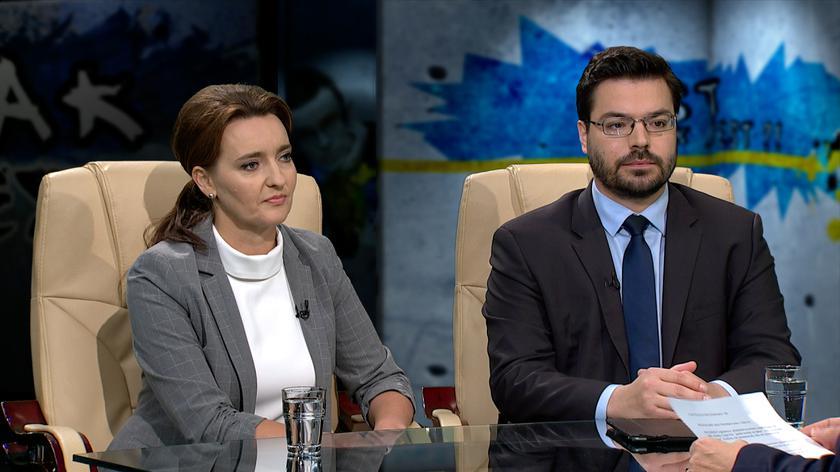 Marzena Okła-Drewnowicz i Stanisław Tyszka w Tak Jest