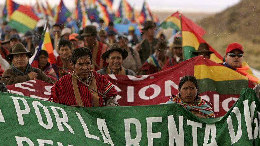 W Boliwii na ulice wyszli zarówno zwolennicy, jak i przeciwnicy prezydenta