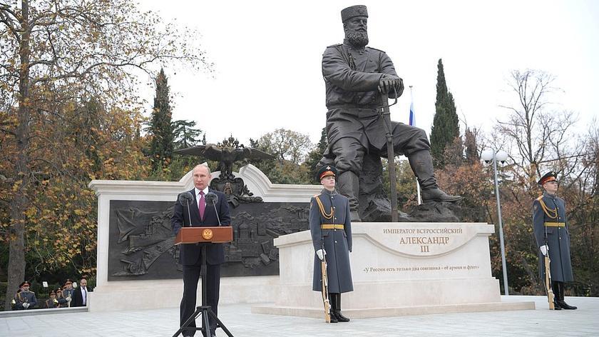 Pomnik stanął na zaanektowanym Krymie