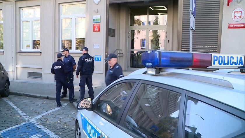 Do ataku doszło w Sądzie Okręgowym w Szczecinie