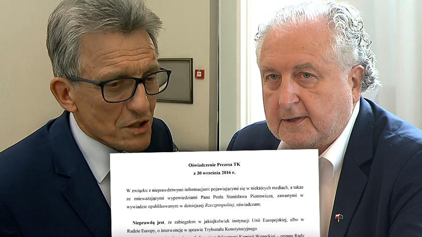 Pod koniec lipca prokuratura wszczęła śledztwo w sprawie prezesa TK (rozmowa z 30.09)