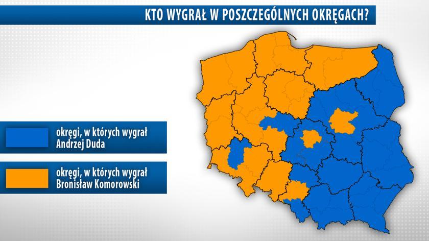 PKW podała oficjalne wyniki pierwszej tury wyborów