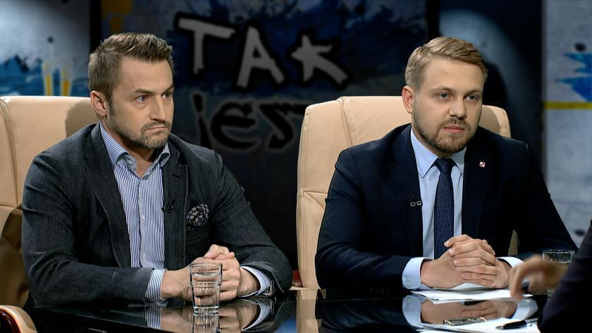 Piotr Guział i Jacek Ozdoba w Tak Jest
