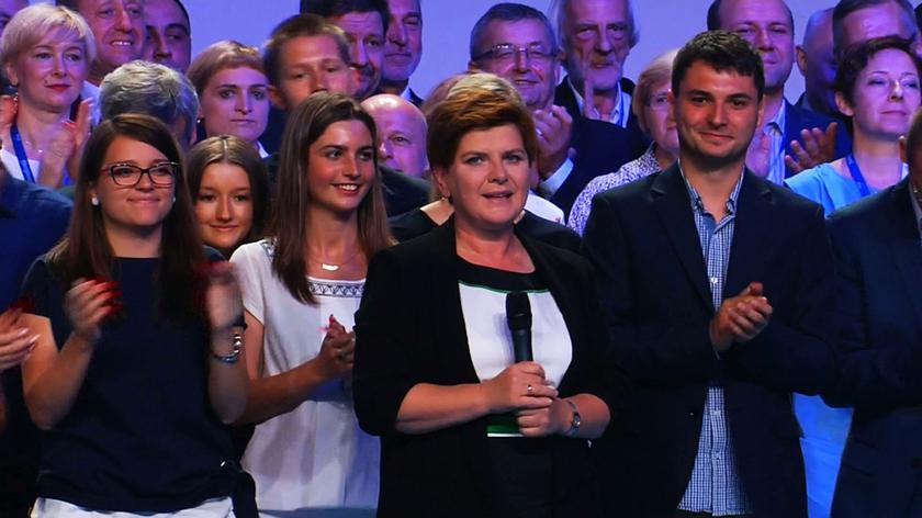 Beata Szydło na zakończeniu konwencji programowej PiS