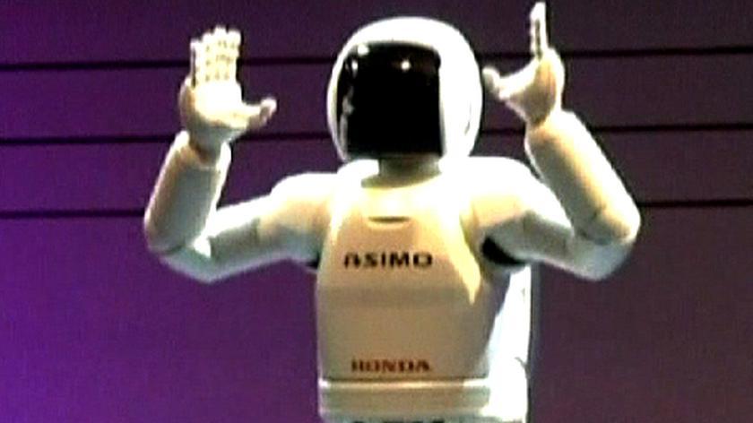 Robot potańczy i ponosi
