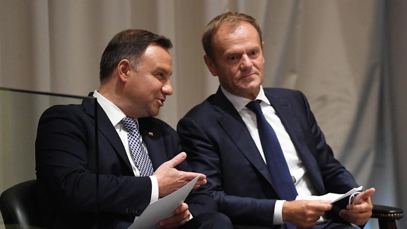 Andrzej Duda i Donald Tusk na Zgromadzeniu Ogólnym ONZ
