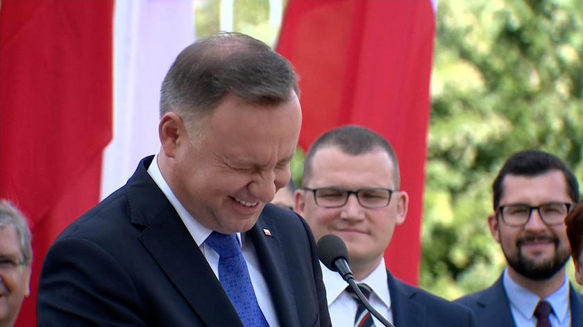 Andrzej Duda opowiedział anegdotę w Koszalinie. Wygrał głosowanie na najciekawsze wideo tygodnia