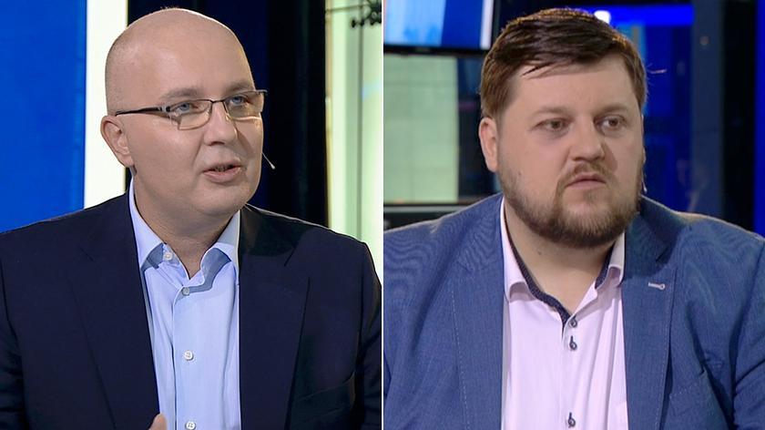 Robert Kropiwnicki i Piotr Apel w TVN24