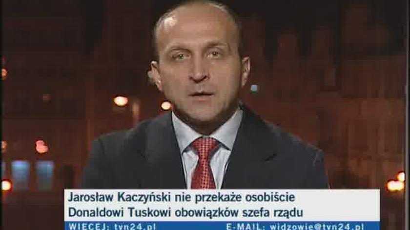"""Kazimierz Marcinkiewicz o oddawaniu władzy """"z klasą"""""""