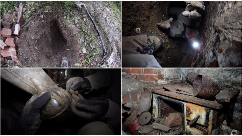 Pod ziemią odkryli poniemiecką kantynę