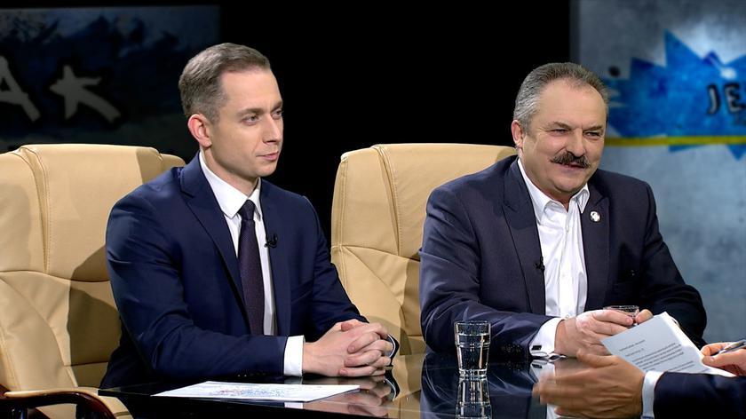 Cezary Tomczyk i Marek Jakubiak w Tak Jest