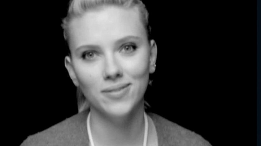 Scarlett Johansson dla Obamy
