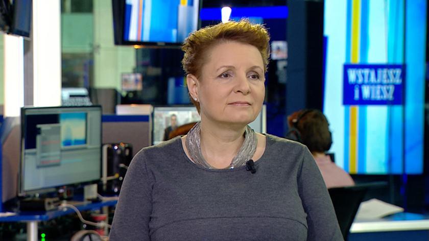 """Minister kultury Małgorzata Omilanowska mówiła w TVN24 o sukcesie """"Idy"""""""