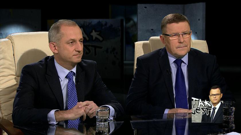 Sławomir Neumann i Zbigniew Kuźmiuk w Tak jest
