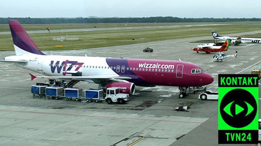 Wizzair o odwołanych lotach