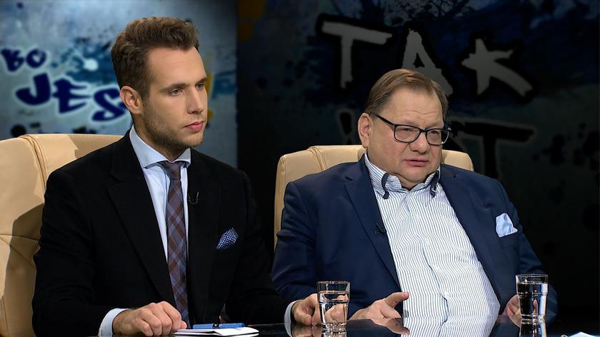 """Jan Kanthak i Ryszard Kalisz w """"Tak jest"""""""