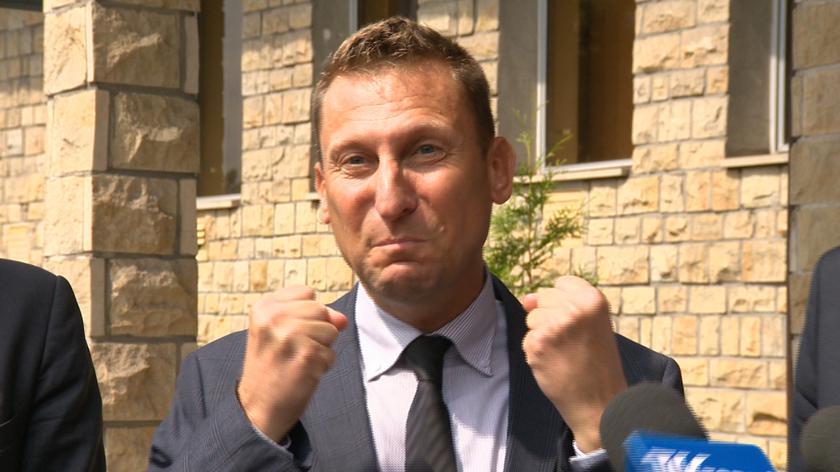 Marek Jopp cieszył się po ogłoszeniu wyroku