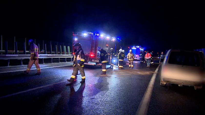 Dwie osoby poszkodowane w wypadku na zakopiance
