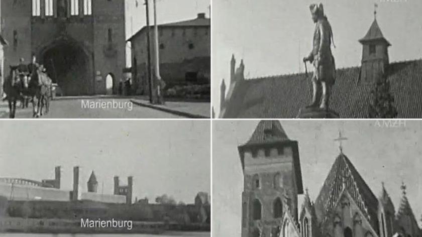 Amatorski film z Malborka lat 40tych