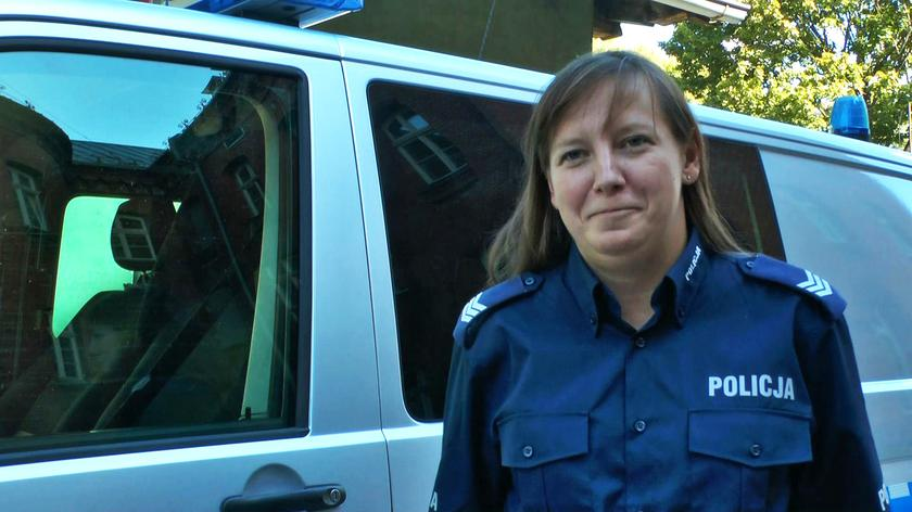 Policjantka z Olsztyna interweniowała po służbie
