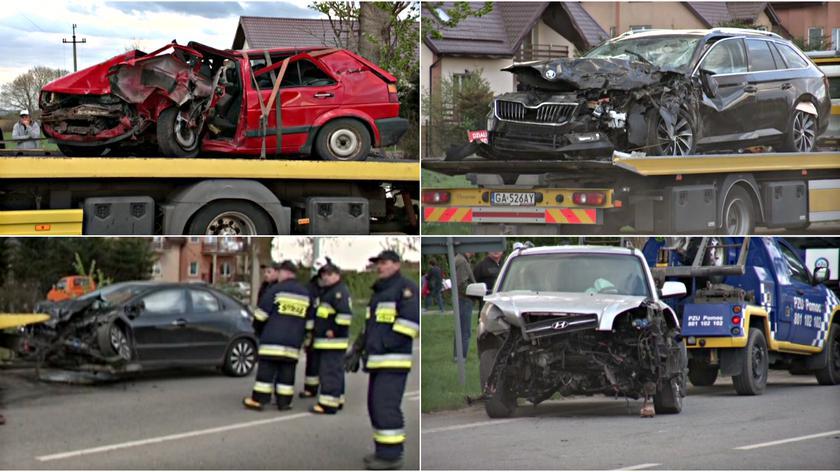 Wypadek miał miejsce na trasie z Pucka do Władysławowa