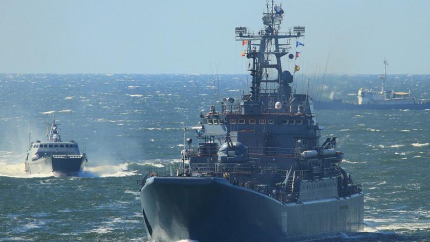 Ćwiczenia rosyjskiej Floty Czarnomorskiej