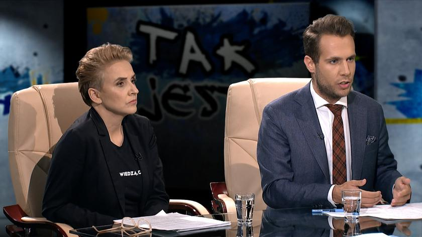 Joanna Scheuring-Wielgus i Jan Kanthak w Tak jest