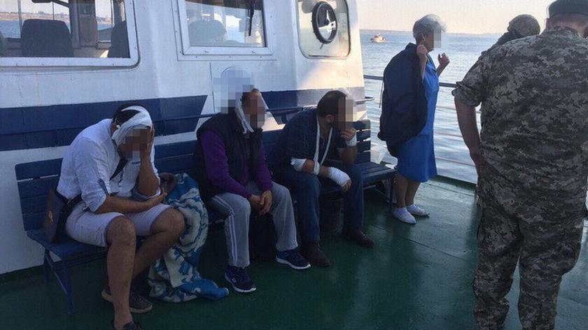 Jednostka specjalna SBU stłumiła bunt na tureckim statku