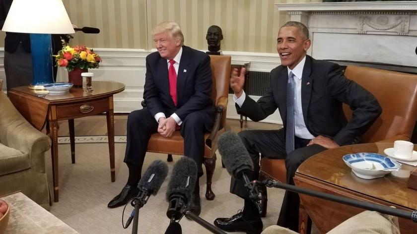 CNN dotarła do listu Baracka Obamy do Donalda Trumpa