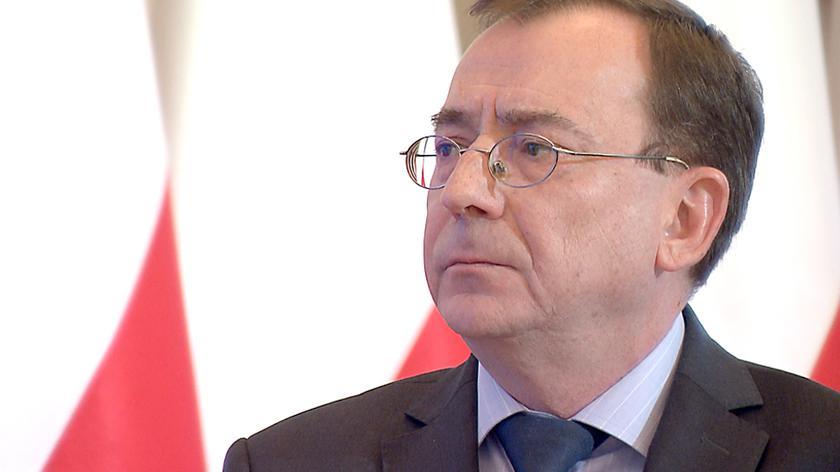 Mariusz Kamiński jest ministrem koordynatorem służb specjalnych