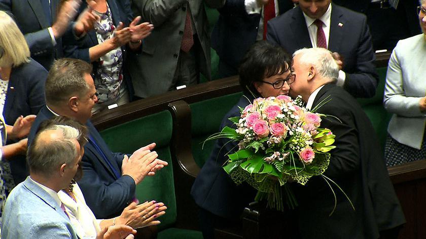 Elżbiet Witek zastąpiła na stanowisku marszałka Marka Kuchcińskiego