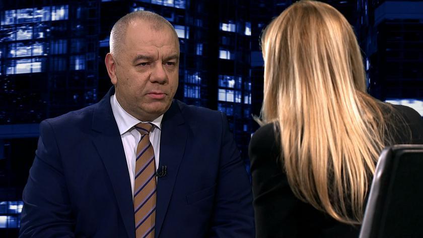 "Jacek Sasin w ""Kropce nad i"" w TVN24"