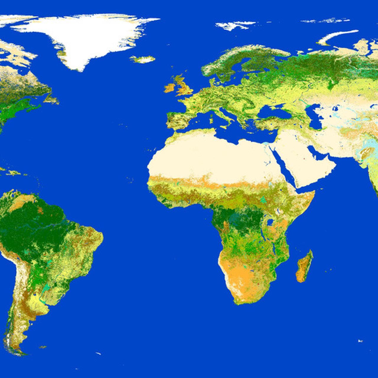 Powstała niezwykle dokładna mapa Ziemi - TVN24