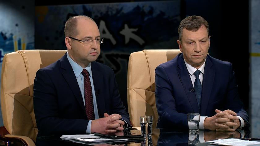 Adam Bielan i Andrzej Halicki w Tak jest
