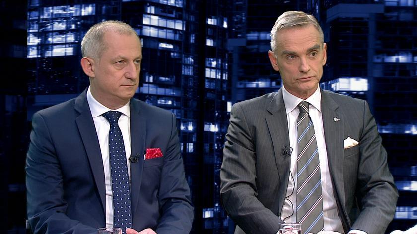 """Sławomir Neumann i Jan Maria Jackowski byli gośćmi """"Kropki nad i"""""""