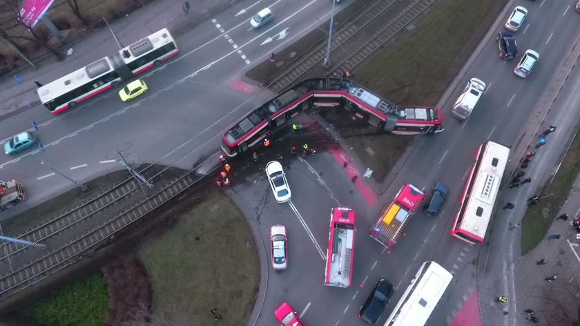 Do wypadku doszło w centrum Gdańska