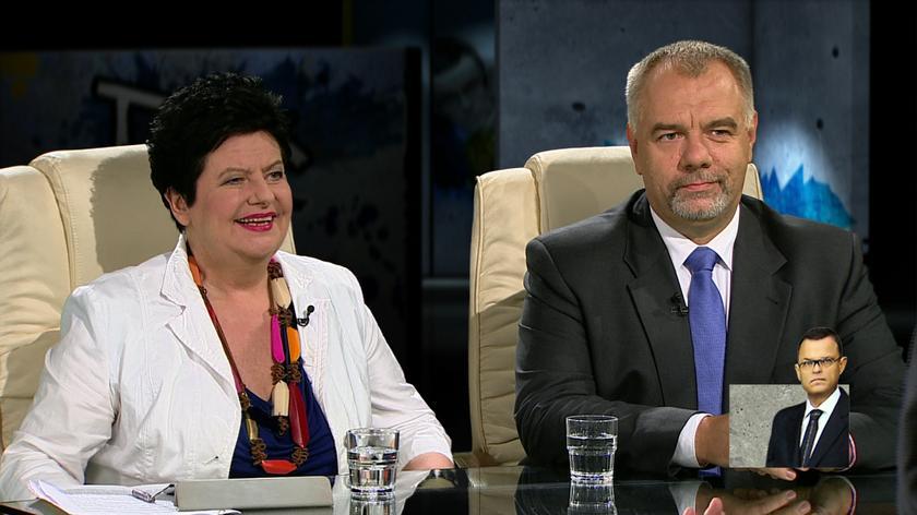 Joanna Senyszyn i Jacek Sasin w Tak jest