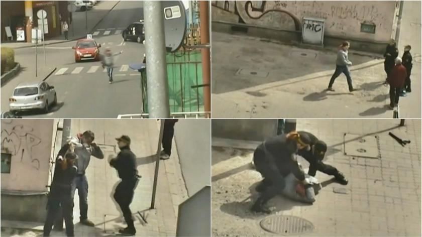 Po dopalaczach zaatakował strażnika, usłyszał zarzuty