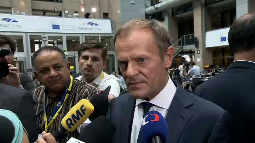 Tusk: nasze decyzje są także decyzjami na rzecz rządów prawa w Europie i każdym kraju członkowskim
