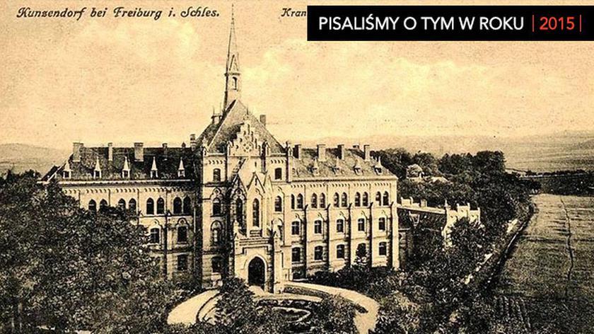 Tajemniczy budynek w Mokrzeszowie na Dolnym Śląsku. Do dziś nie wiadomo co działo się tu podczas wojny