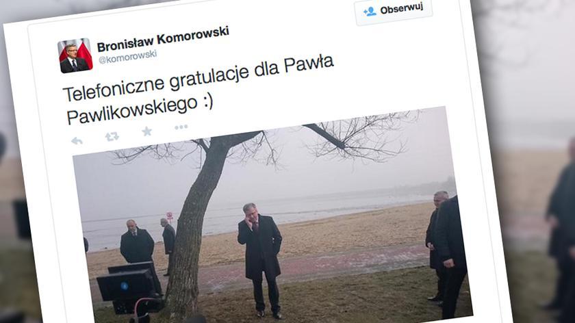 """""""Telefoniczne gratulacje dla Pawła Pawlikowskiego"""""""