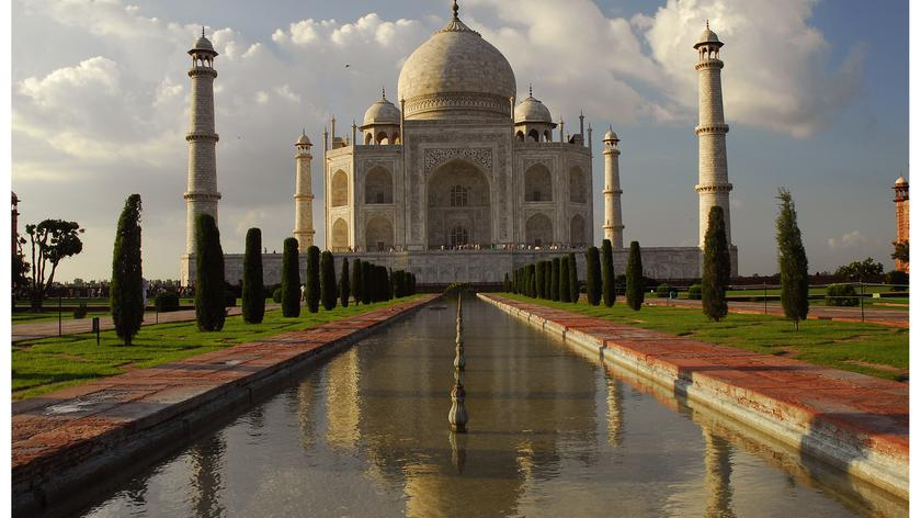 Tadź Mahal zagrożone zalaniem