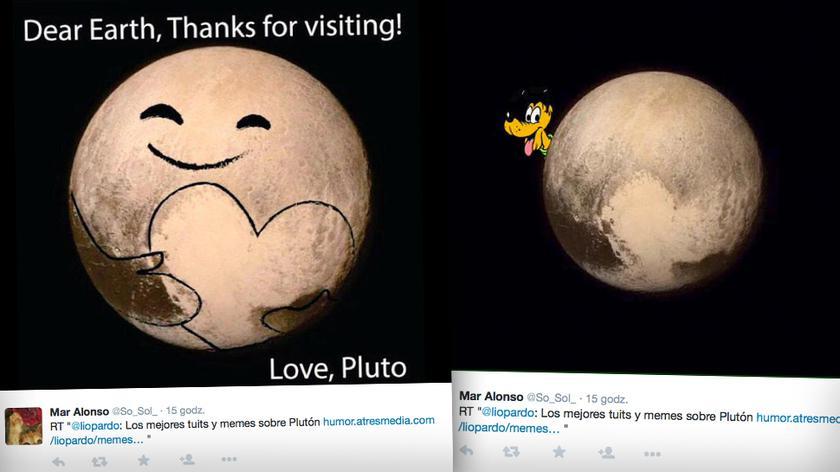"""""""Droga Ziemio, dziękuje za wizytę"""". Przelot New Horizons tematem memów"""