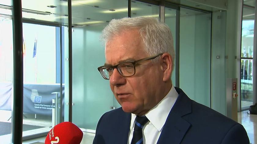 Czaputowicz proponuje, aby sankcje wobec Rosji przedłużano o rok